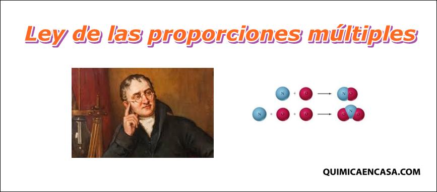Ley De Las Proporciones Multiples